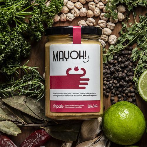 Foodtech brasileira lança linha de maioneses veganas