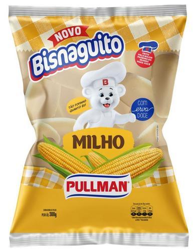Pullman lança bisnaguito sabor milho