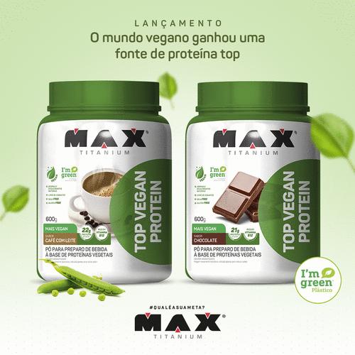 Max Titanium lança top vegan protein