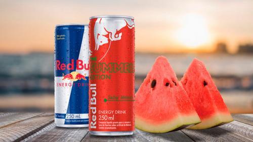 Red Bull lança energético sabor melancia