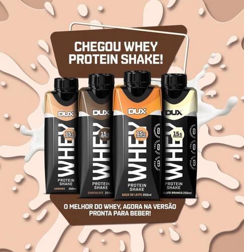 Dux Nutrition lança linha de shakes proteicos