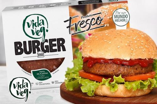 Vida Veg lança primeiro hambúrguer vegetal fresco do Brasil