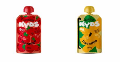Yorgus apresenta 1ª linha KYDS de iogurte 100% natural