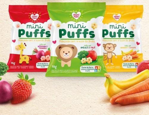Nhami Mami traz lançamento de snacks saudáveis para crianças
