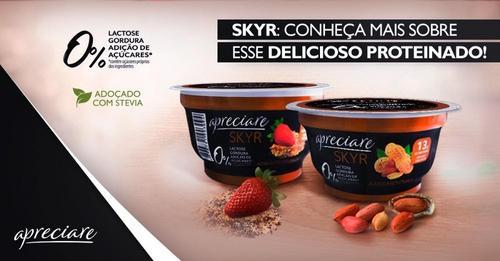 Apreciare apresenta nova formulação e embalagem do Iogurte islandês Skyr