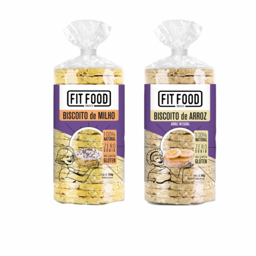 FIT FOOD lança linha de biscoitos 100% natural