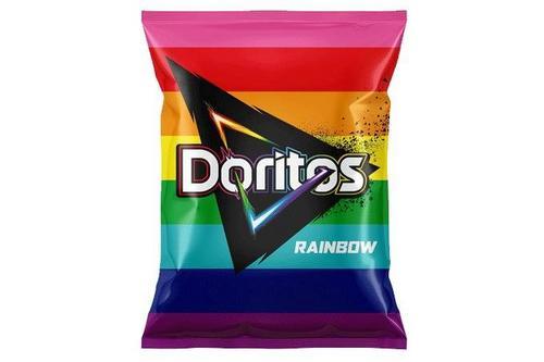 Doritos Rainbow muda embalagem e direciona mais R$1 milhão à causa LGBTI+