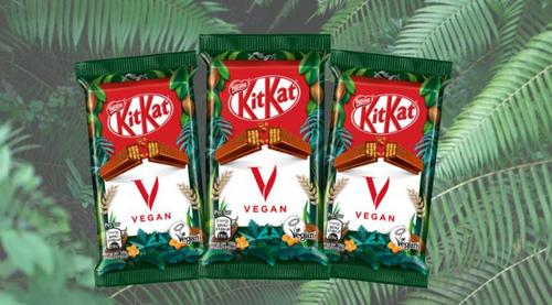 Nestlé aposta em Kit Kat Vegano