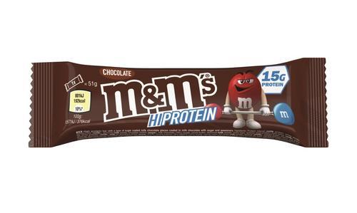 INTERNACIONAL: M&M's lança primeira linha de barras proteicas no Reino Unido