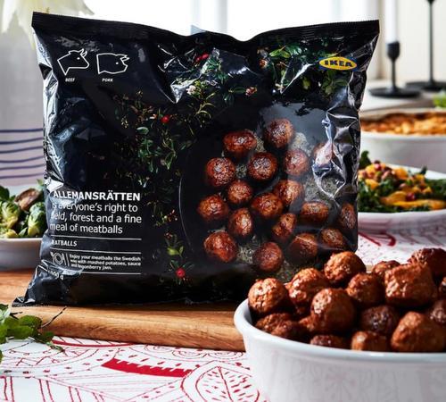 INTERNACIONAL: Novas almôndegas vegetarianas da Ikea