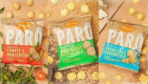 Flormel lança linha ''Parô'' de Snacks Saudáveis
