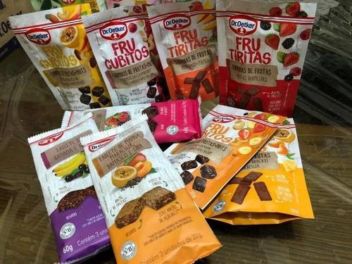 Dr. Oetker lança snacks de frutas e chás instantâneos