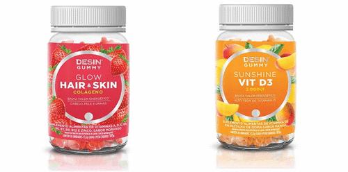 Desin Gummy é novo lançamento da Desin Nutrition