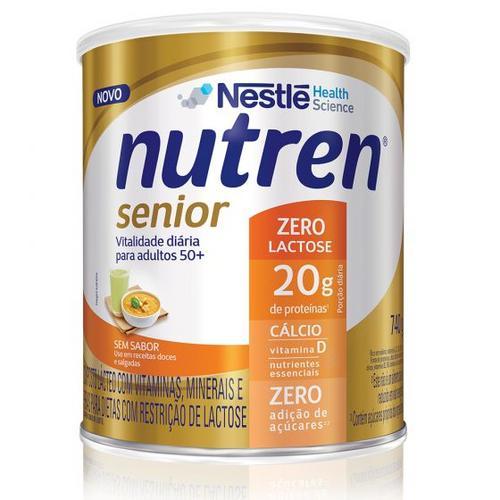 Nutren® Senior ganha  versão Zero Lactose