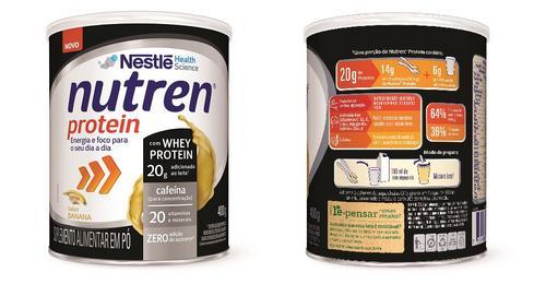 Nutren Protein ganha sabor banana
