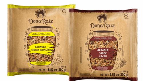 Dona Raiz inclui novos sabores de granola
