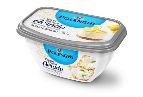 Polenghi lança Cream Cheese Aerado